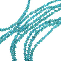 Bright Blue Turquoise Nugget Beads 30810
