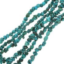 Dark Blue Turquoise Bead Tibetan Nugget 30804