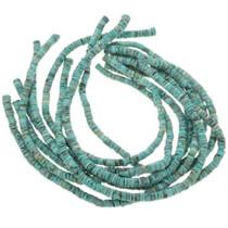 Tibetan Turquoise 7mm Heishi Necklace Jewelry Supply 30805