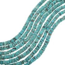 Quality Tibetan Turquoise Heishi Bead Strand 30806