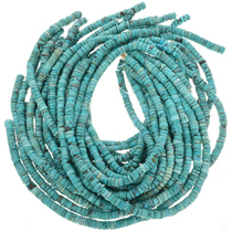 Blue Turquoise Heishi 30806
