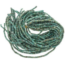Green Turquoise Heishi Bead Necklace Supply 30807