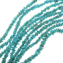 Bright Turquoise Beads Campitos Nuggets 30800