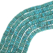 Turquoise Disc Beads 30813