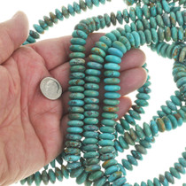 Turquoise Rondelle Beads 30819