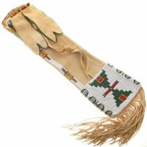 Vintage Cheyenne Indian Beaded Pipe Bag 30799