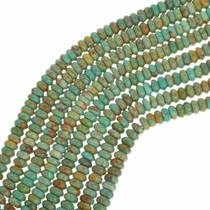 Green Turquoise Rondelles 30821