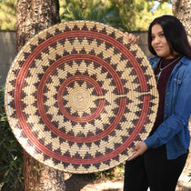 Huge Authentic Navajo Wedding Basket 30730