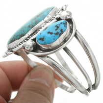 Navajo Made Turquoise Bracelet 30908