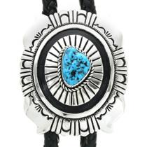 Native American Turquoise Bolo Tie 30941