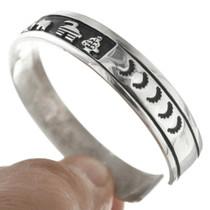 Navajo Made Sterling Silver Bracelet 30950