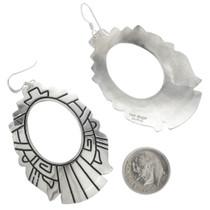 Navajo Western Hoop Earrings 30955