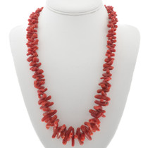 Red Coral Necklace 30959
