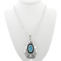 Silver Native American Necklace 30963