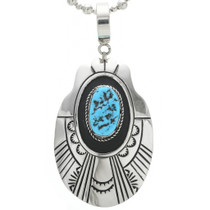 Turquoise Native American Necklace 30963