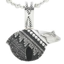 Overlaid Silver Bear Pendant 30969