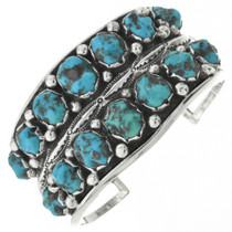 Old Pawn Native American Natural Turquoise Bracelet 30999