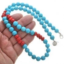 Navajo Western Turquoise Necklace 31007