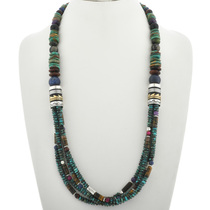 Native American Turquoise Necklace 31008