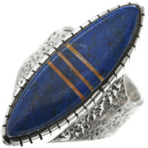 Vintage Lapis Sterling Silver Ring 31027