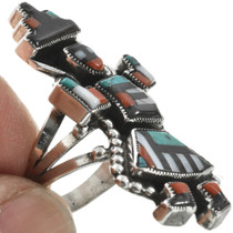 Zuni Indian Inlay Ring  31028