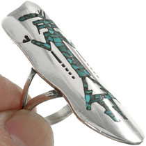 Native American Silver Ring 31029