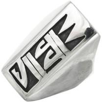 Vintage Hopi Sterling Mens Ring 31033