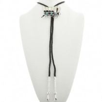 Sterling Silver Country Western Bolo Tie 31041