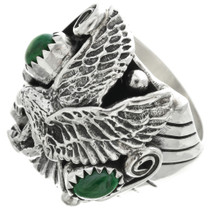 Sterling Silver Eagle Ring 31043