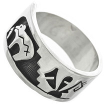 Hopi Sterling Silver Ring 31045