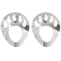 Sterling Silver Bear Paw Jewelry Supplies 925-065