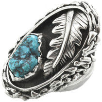 Vintage Natural Turquoise Ring 31051
