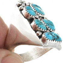 Sterling Silver Turquoise Ring 31055