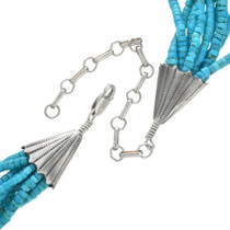 Navajo Turquoise Necklace 31067