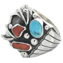 Vintage Turquoise Mens Ring 31071