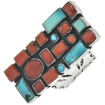 Turquoise Coral Ring 31079