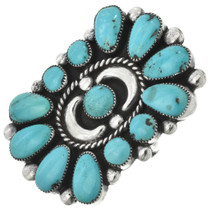 Navajo Turquoise Ring 31090