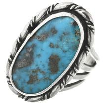 Vintage Navajo Turquoise Ring 31092