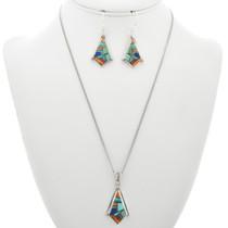 Turquoise Gemstone Inlay Pendant 31094