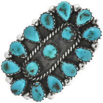 Vintage Navajo Turquoise Ring 31106