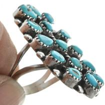 Blue Turquoise Western Jewelry 31106
