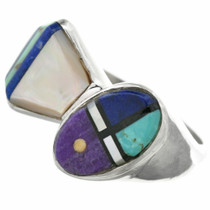 Native American Turquoise Inlay Ring 31124