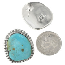 Turquoise Sterling Silver Earrings 31142
