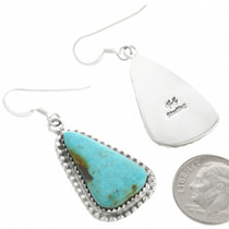 Hand Made Sterling Silver Southwestern Earrings 31145