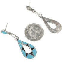 Native American Turquoise Earrings 31166