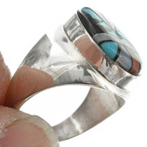 Native American Turquoise Mens Ring 31167