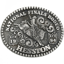 Hesston Rodeo Trophy Belt Buckle 31175