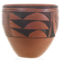 Hopi Corn and Rain Pattern Pot 31183