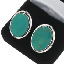 Vintage Turquoise Cuff Links 31259