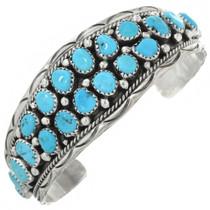 Vintage Navajo Turquoise Cuff Bracelet 31264